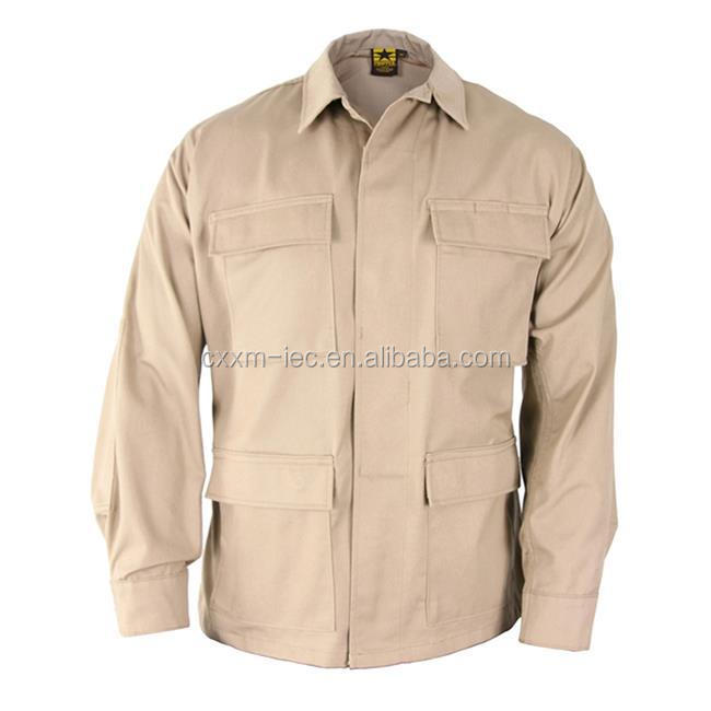 Estilo EUA Exército de alta Qualidade Verde Oliva Camisa
