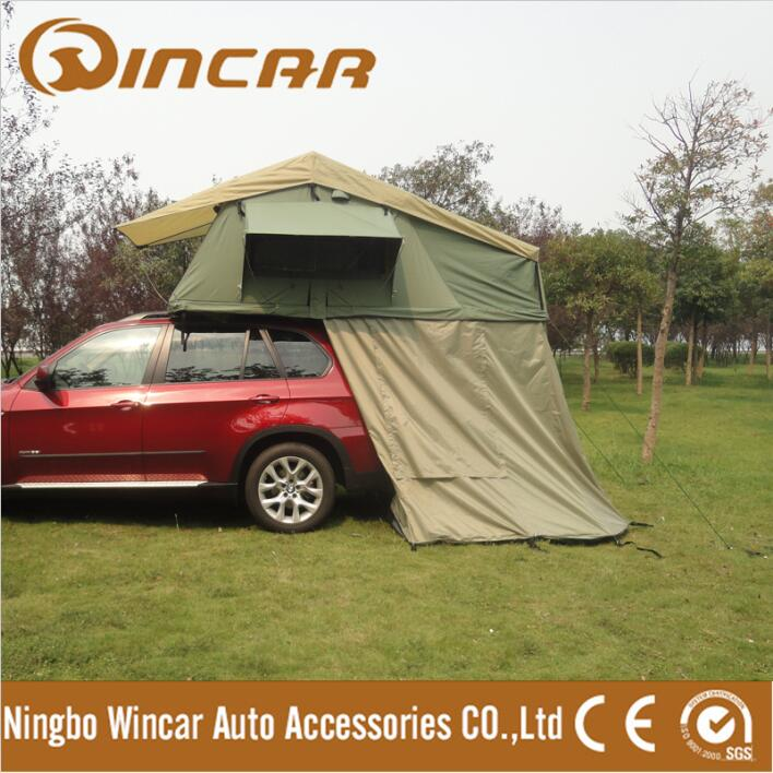 Foldable Car Ripstop Camper Trailer Car roof Tents Camping Roof Top Tent from WINCAR