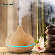 300ml wood grain ultrasonic essential oil diffuser with CE CB ROHS certificate