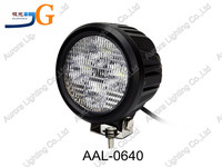 Super bright offroad light!! led auto working light lamp round spot flood wide beam AAL-0640