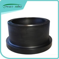 HDPE Flange stub end fitting butt fusion pe fitting adapter