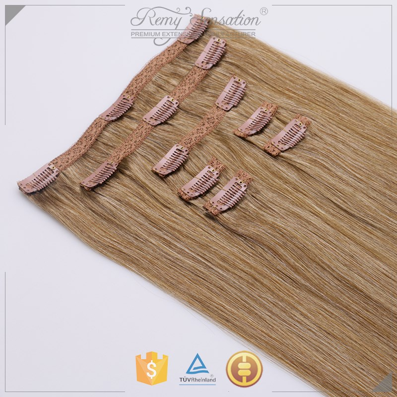 Luxury Grade Real Natural Remy Hair clip in hair extensions UK Style