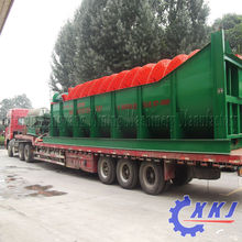 Iron sand processing Spiral screw classifier chrome ore processing screw classifier