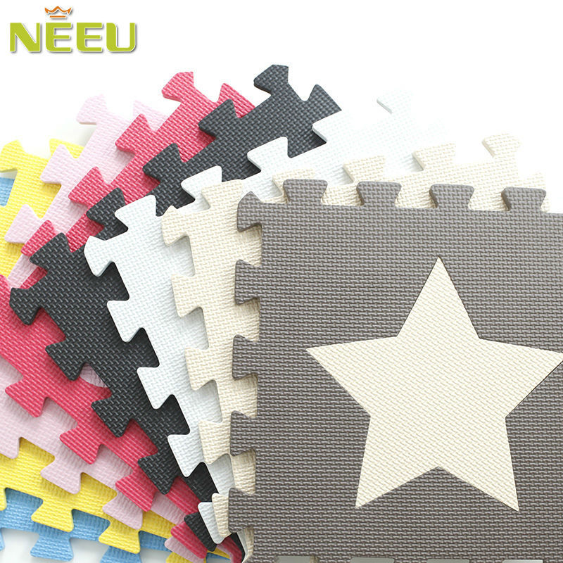 educational EVA material indoors wholesale foam floor 3d puzzle mat for baby play toys
