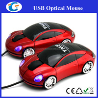 sport car shape design computer wired mouse
