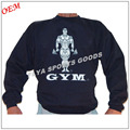 Wholesale New fitness men long sleeve running sports t shirt muscle gym bodybuilding clothes