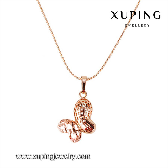 30631-xuping wholesale latest design rose gold pendant men
