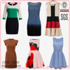 Small quantity clothing manufacturer fashion printed design all types of ladies dresses