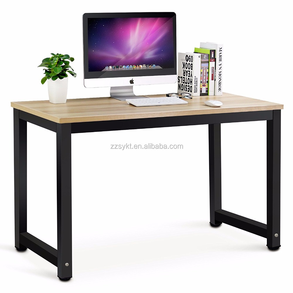 Wooden Office Workstation Metal Corner Desks Computer Laptop Writing Tables    Buy Office Tables,Office Desk Side Tables,Portable Workstation Laptop ...