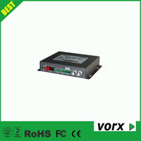 80km 2 channel video + 2 channel data to fiber converter video converter