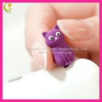 Hot Sale High Quality Cartoon Earphone Dustproof Cute Dust Plug for Mobile Phone Wholesele Phone Plugy