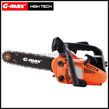 G-max gasoline tree pruning long pole chain saw/tree trimmer 25.4cc GT21202