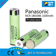 Wholesale alibaba protection 18650 NCR18650BE 3200mAh 3.6V panasoni battery li-ion button rechargeable battery lir2477