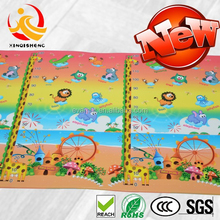Baby Cushioned Play Gym Mat With Sides Hot Sale