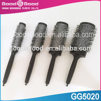 Newest professional wholesale thermal ceramic round ionic hair brush