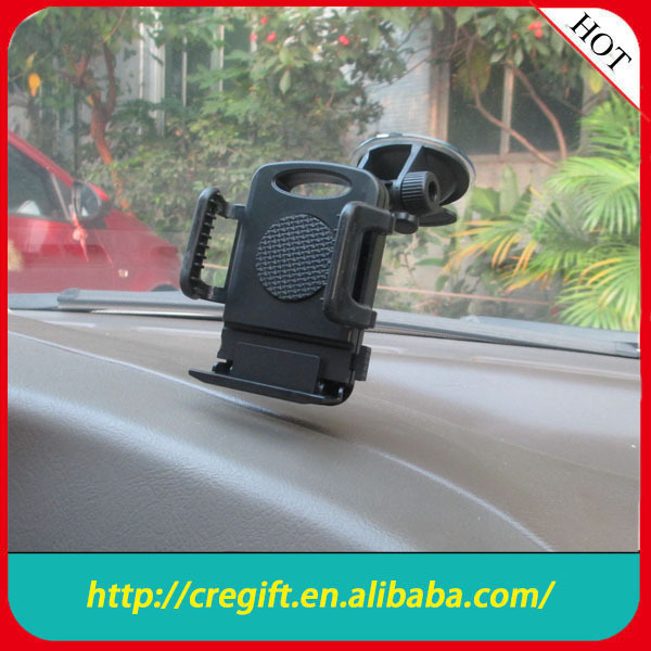 2014 china factory Promotional Universal GPS stand/car phone stand holder for smartphone/ipad/iphone/GPS
