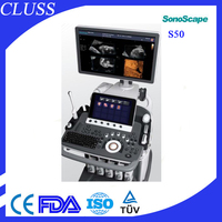 S50 color 3D trolley ultrasound doppler machine and system price