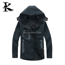 Low price softshell jacket outdoor jacket for men camping jacket
