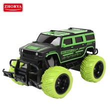 Zhorya 1:20 27 MHz 4 Channel Rechargeable Strong Big Foot Emulation Off Road RC Toy Car