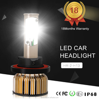 New Product High Quality h13 led headlight bulbs for Car Accessories modified LED Headlights 80w 8000 lumen LED Headlight 3C H13