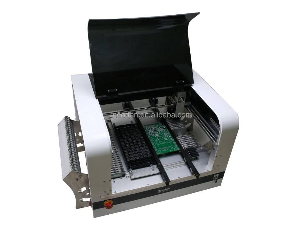 1200mm LED tubes SMT pick and place machine with high speed and accuracy -NeoDen4