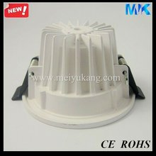 hot sale 2.5'' downlight frames round glass light cover 3-5w