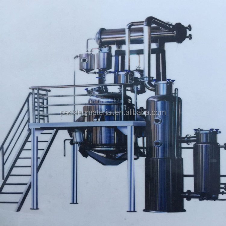 DC-NSG Multifunctional Vacuum herbal oil Extraction equipment and Concentration Device