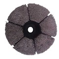Plate gringding disc brush