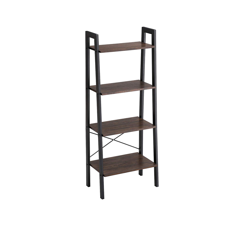 Vintage 4-Tier Wood Corner Shelf Storage Holders & Racks for home and office