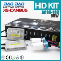 Most power fast shipping swing hi/low hid xenon bulb, canbus ballast, hid remote controlled searchlight AC 55w BAOBAO Lighting