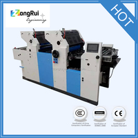 2015 NEW ZR256II two Color Offset Printing Machine hot Sale 2 two Colour Offset Printing Machine for logo printing