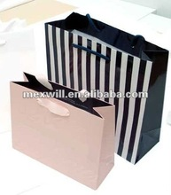 Luxury pink shopping hand bags