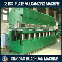 Fresh hot sale jaw type plate vulcanizing press machine / rubber curing press from China manufacturer
