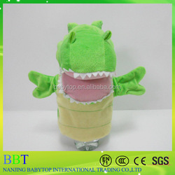 China cheap dinosaur hand puppet for sale