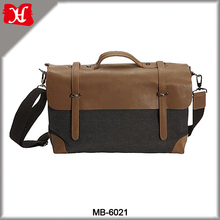 2016 New arrival Canvas Messenger Bags trendy design nice fashionable school bags for teens