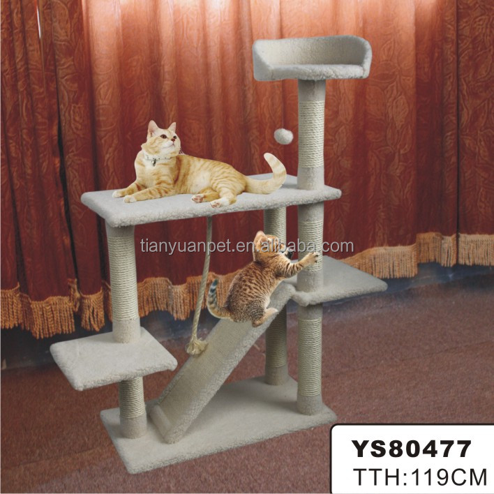 Cat supply cute deluxe cat tree