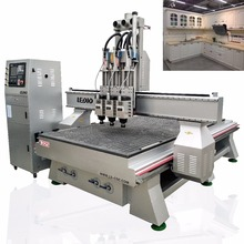 hot sale ledio 3D Wood Carving Machine/4x8 ft Cnc Router/Cnc Router 1325 furniture make machine Price in stock