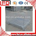 beat quality Wire mesh pallet cage for bottle use
