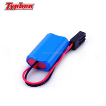 IEC62133 Approved li ion battery 18650 7.4v 2000mah lithium ion rechargeable battery pack for Speak louder