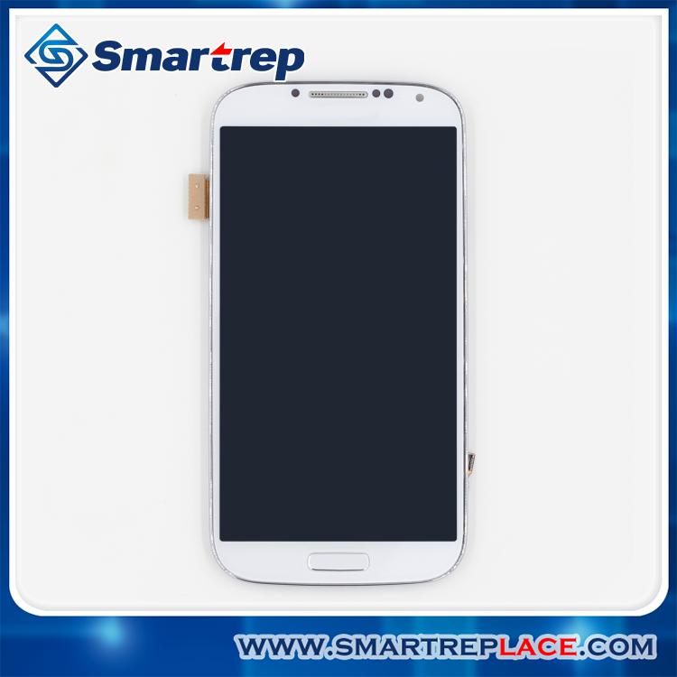 100% Warranty LCD for Samsung Galaxy S4 i9505 GT-I9505 LCD Display Touch Screen Digitizer with Frame Assembly