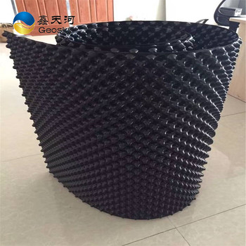 HDPE double side Sheet dimple drainage board composite drainage board green roof drainage