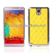 Plating bling star crystal phone case for SAMSUNG Note 3