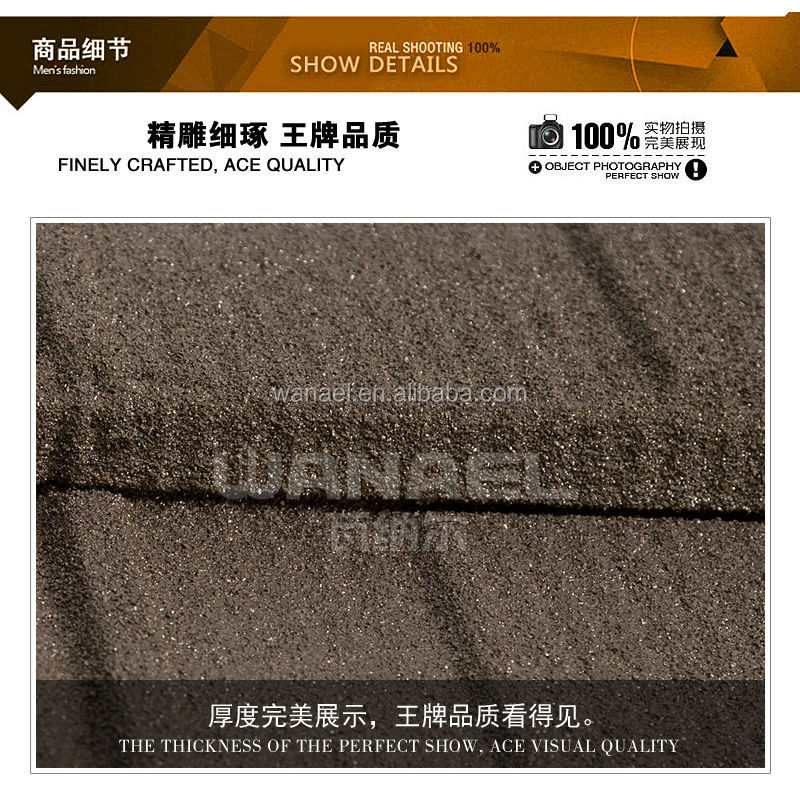 Shingle Wanael stone coated steel types of roof covering sheets/easy roof tiling installation/guangzhou China supplier