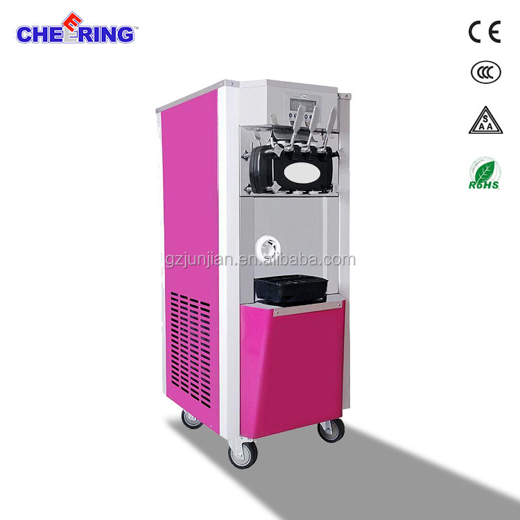 commercial precool ice cream machine parts/used soft ice cream machine