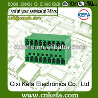 KF2EDGRH-3.81 pitch plug-in terminal block Double Row 300V 10A