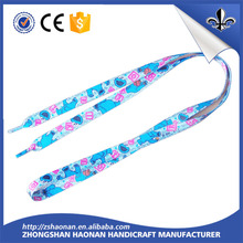 screen printing shoe lace with cheap price