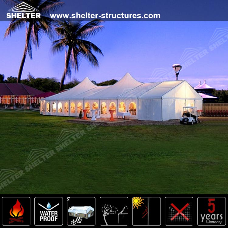 2016 New Designed Outdoor Bell End Polygonal Yuma Marquee Tent for concert event in USA