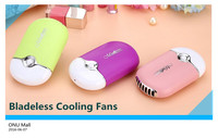 2016 Summer Office Portable Handheld Mini USB Fan ,Electric Bladeless Cooler Air Conditioner