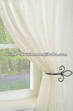 latest design ready made sheer curtain