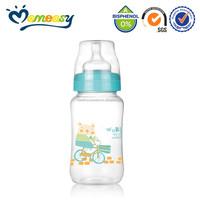 11oz Wide-neck PP baby bottle bpa free empty plastic bottles